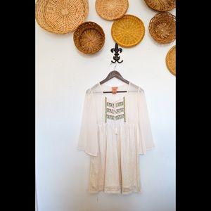Flying Tomato Boho Style Peasant Dress